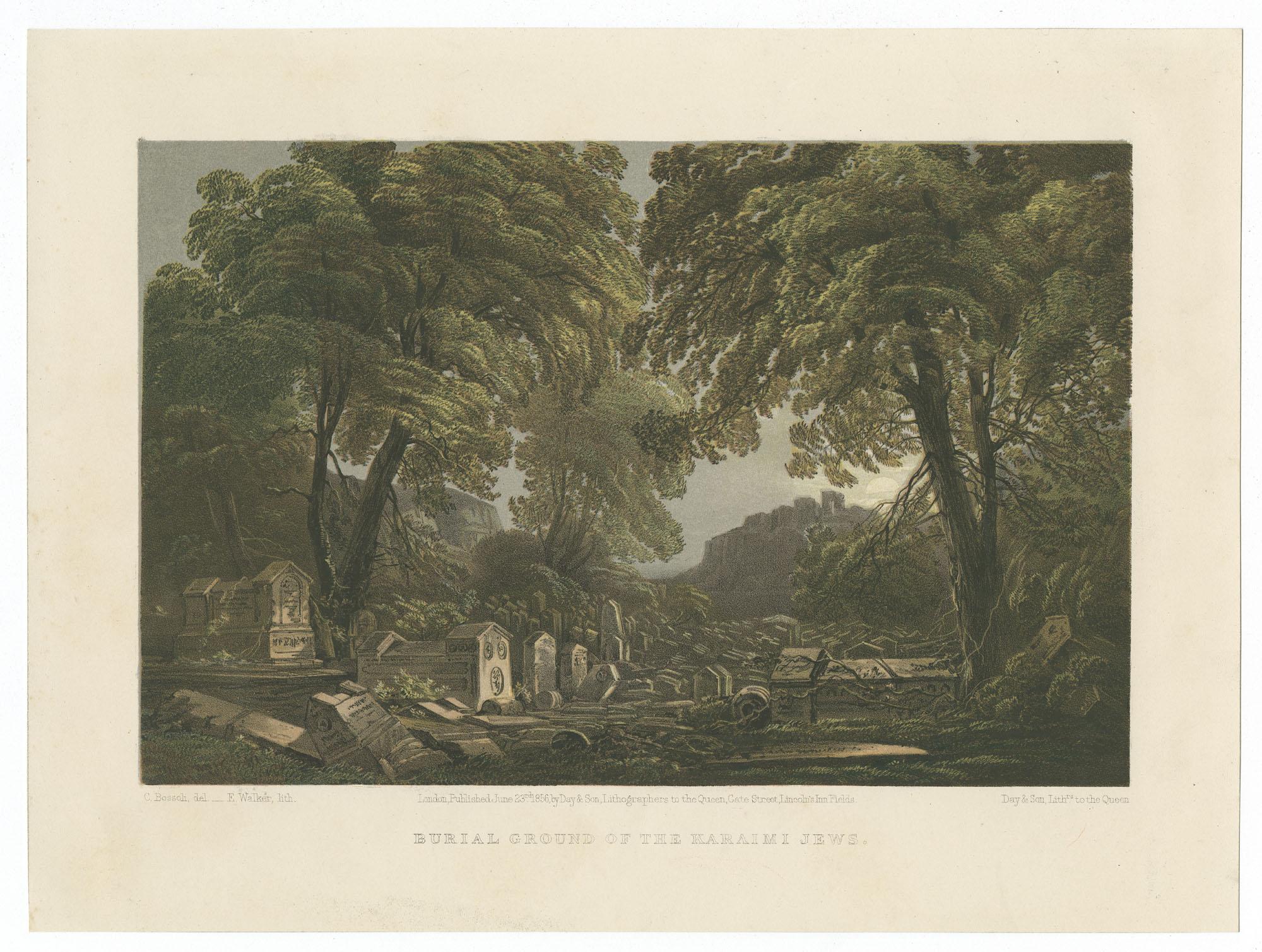 Burial ground of the Karaimi Jews