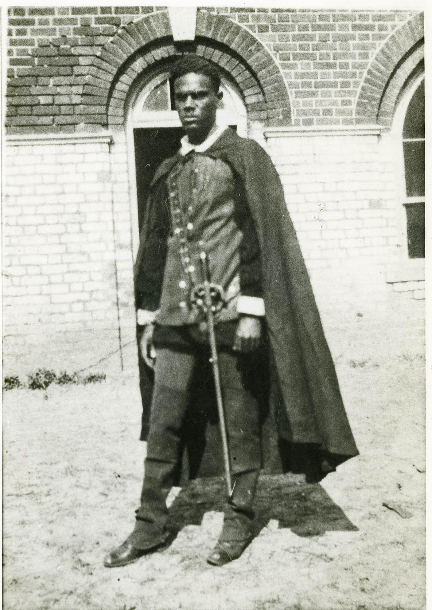 Student Aurelius Robertson in