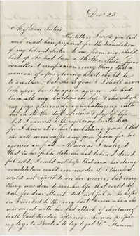 Letter from Angelina Grimke Weld directed to