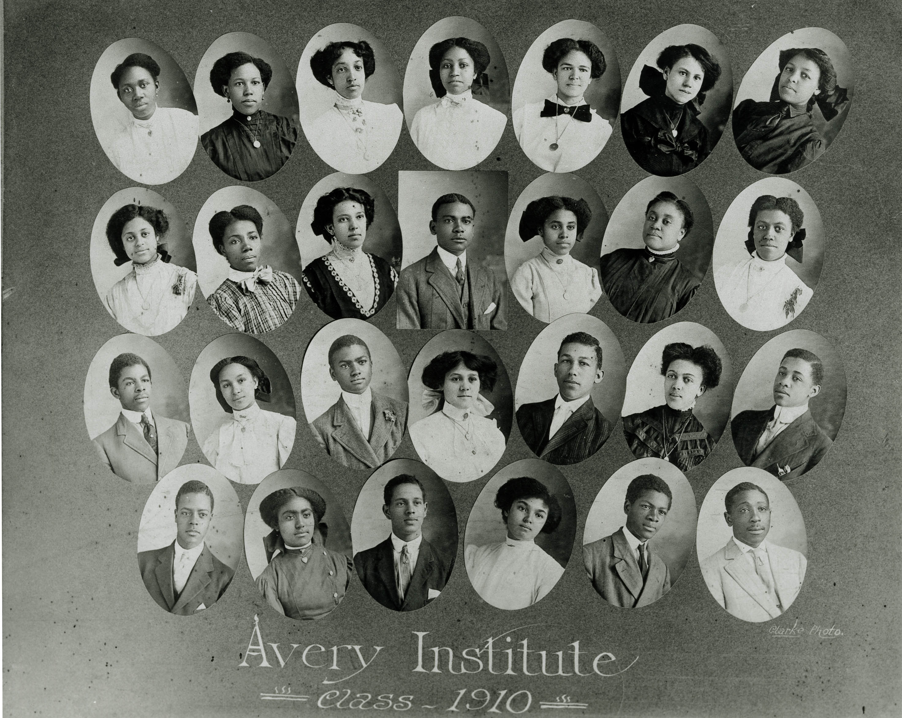 Avery Institute Class of 1910 Picture