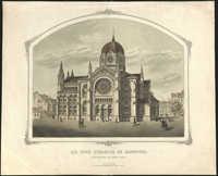 Die neue Synagoge zu Hannover