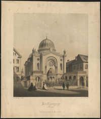 Die Synagoge in Stuttgart