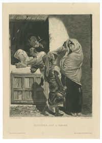 Bijoutier juif à Tanger