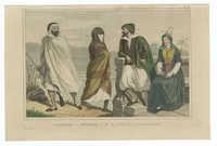 Berbère / Négresse / Juif et Juive d'Alger