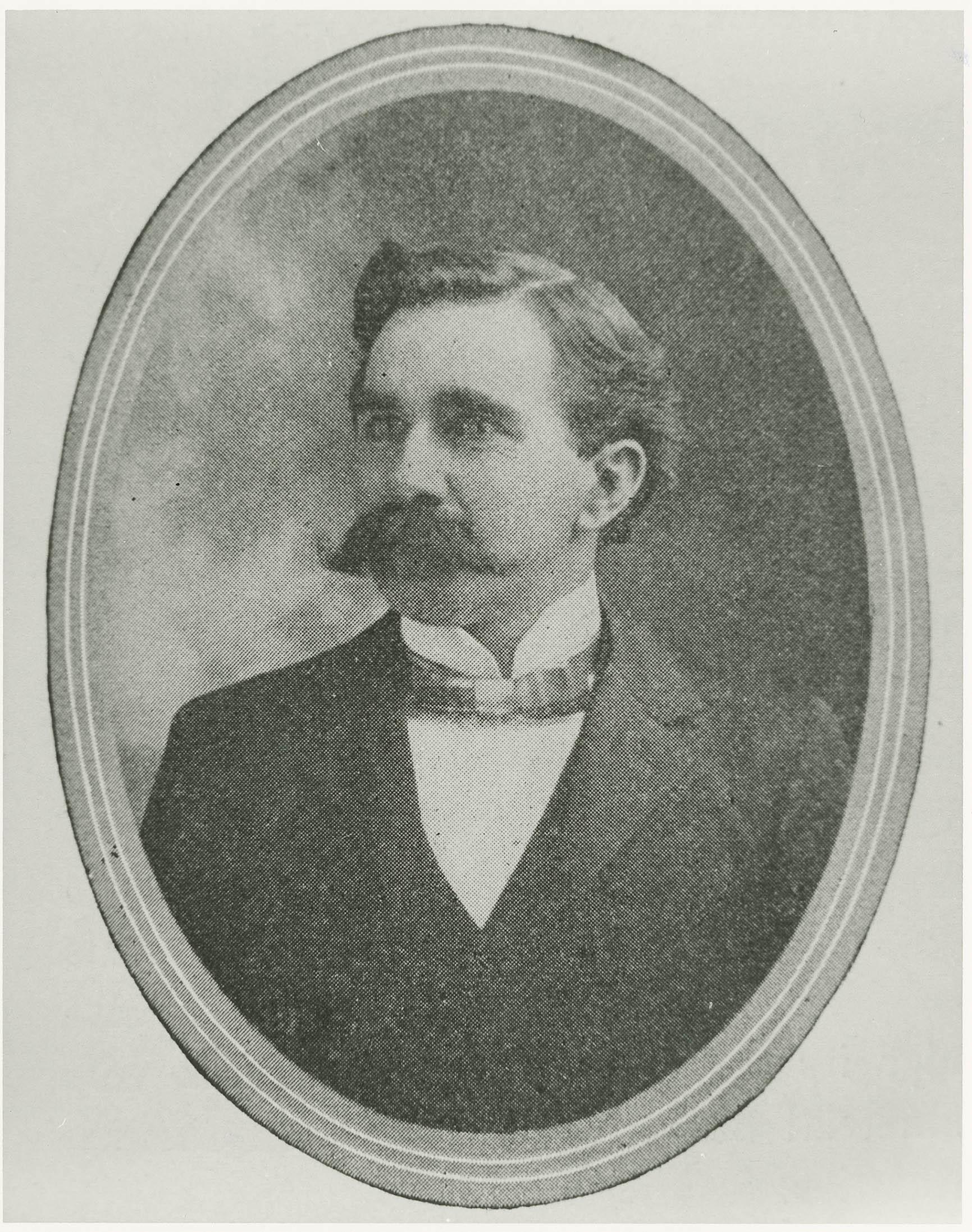 Portrait of Avery Principal, Professor Elbert M. Stevens