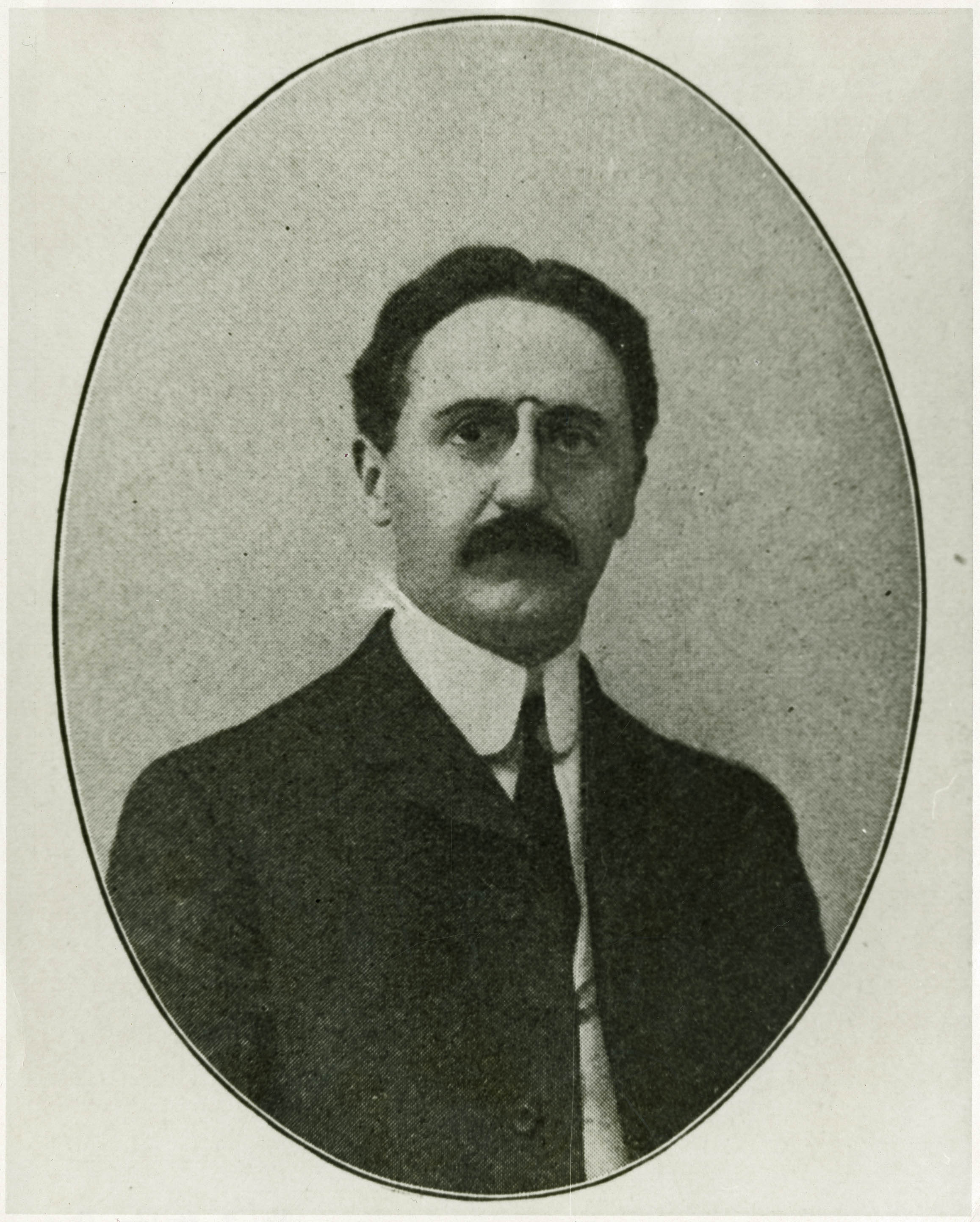 Portrait of Avery Principal Reverend T. Newton Owen