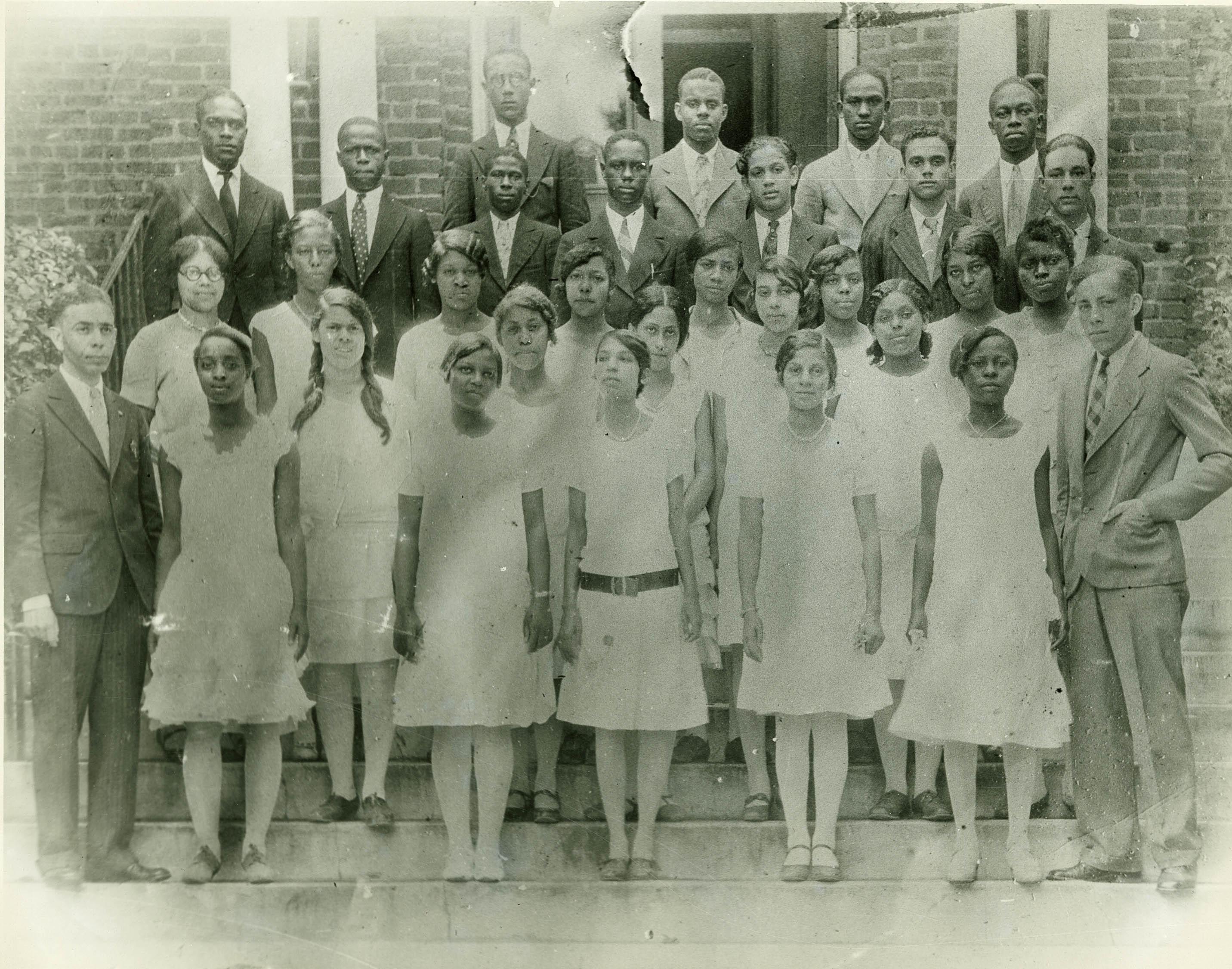 Avery Institute Class Picture