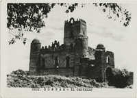 A castle's ruins in Gondar, Ethiopia