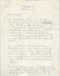 Letter from Bert Alberda to Septima P. Clark, October 16, 1966