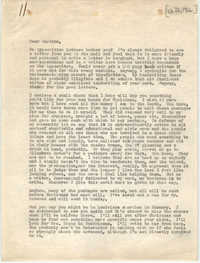 Letter from Josephine Rider to Septima P. Clark, December 1966