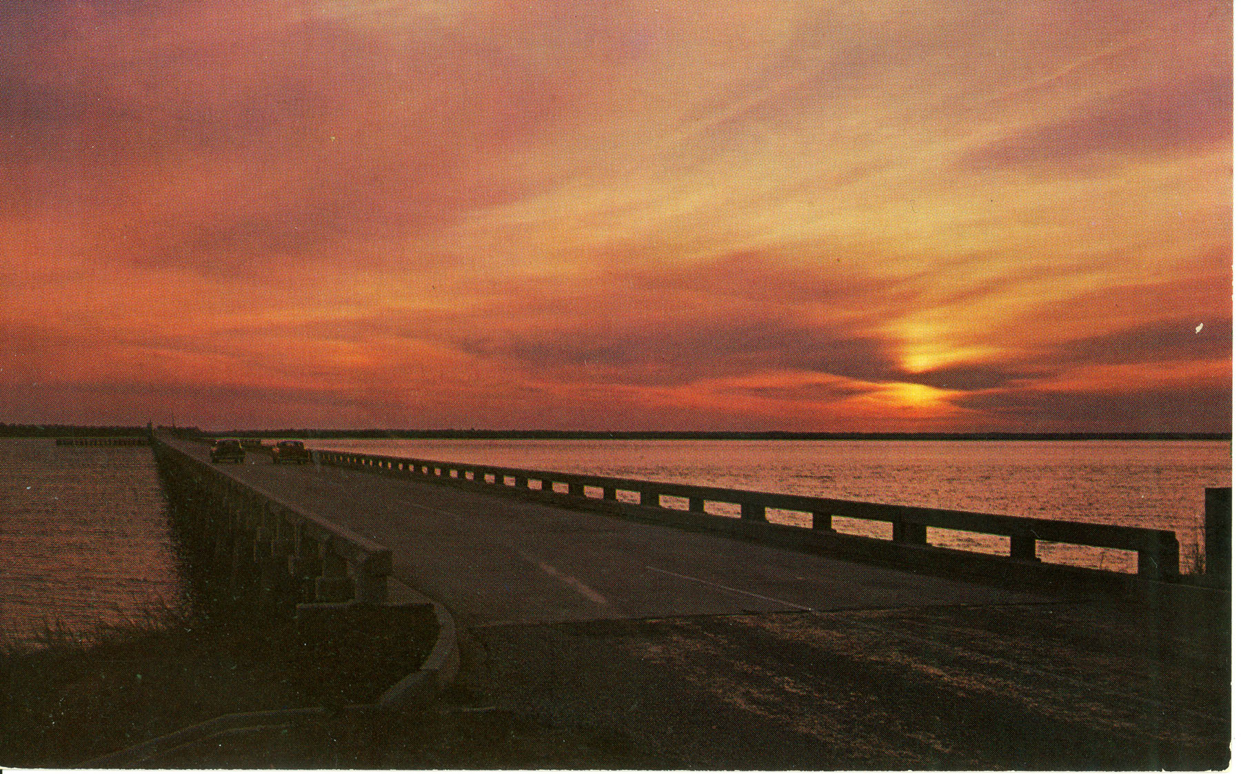 Sunset on the Broad River Beaufort County, South Carolina