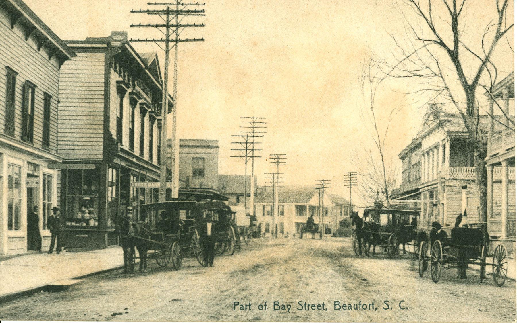 Bay Street in Beaufort