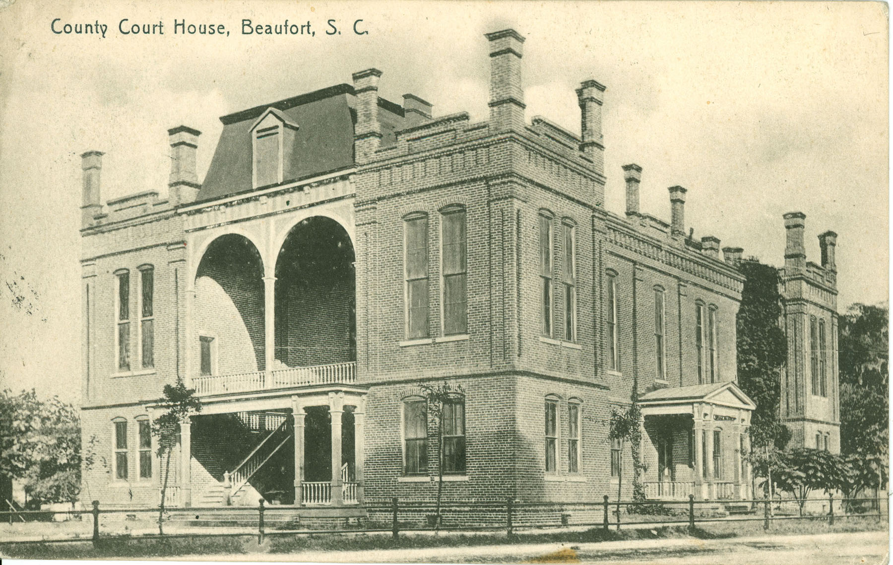 County Court House, Beaufort, South Carolina