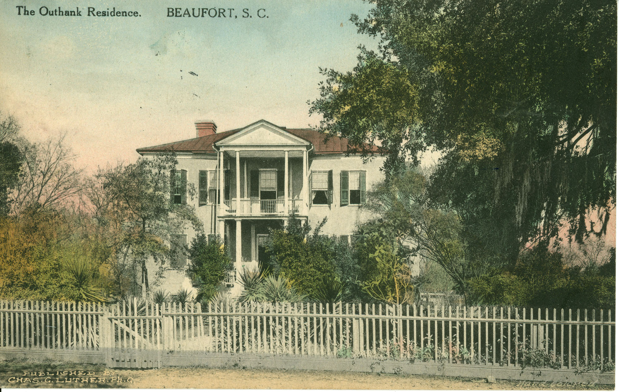 The Onthank Residence. Beaufort, S.C.