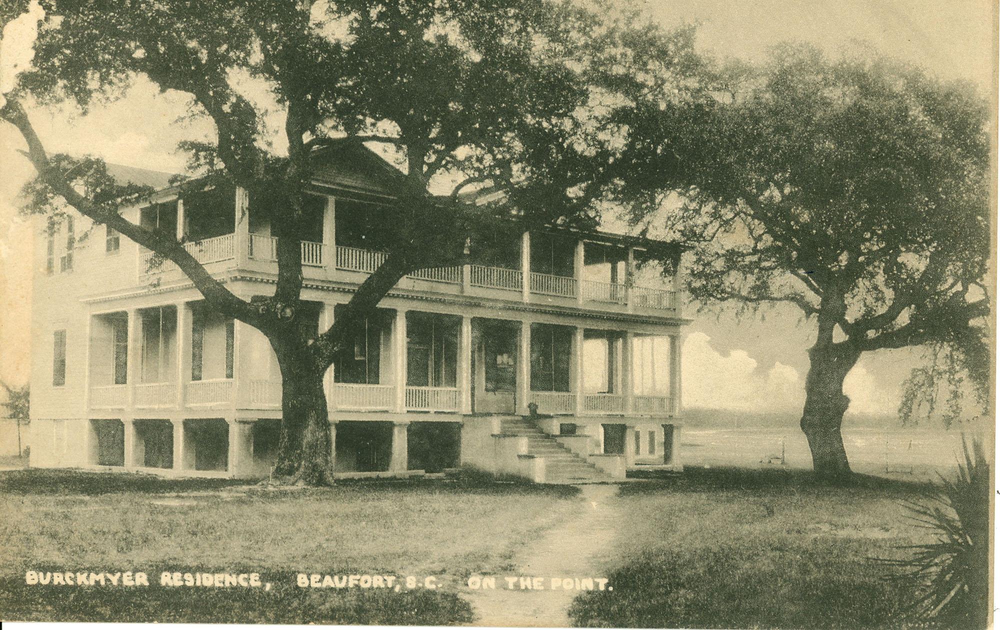 Burckmyer Residence, Beaufort, S.C. On the Point.