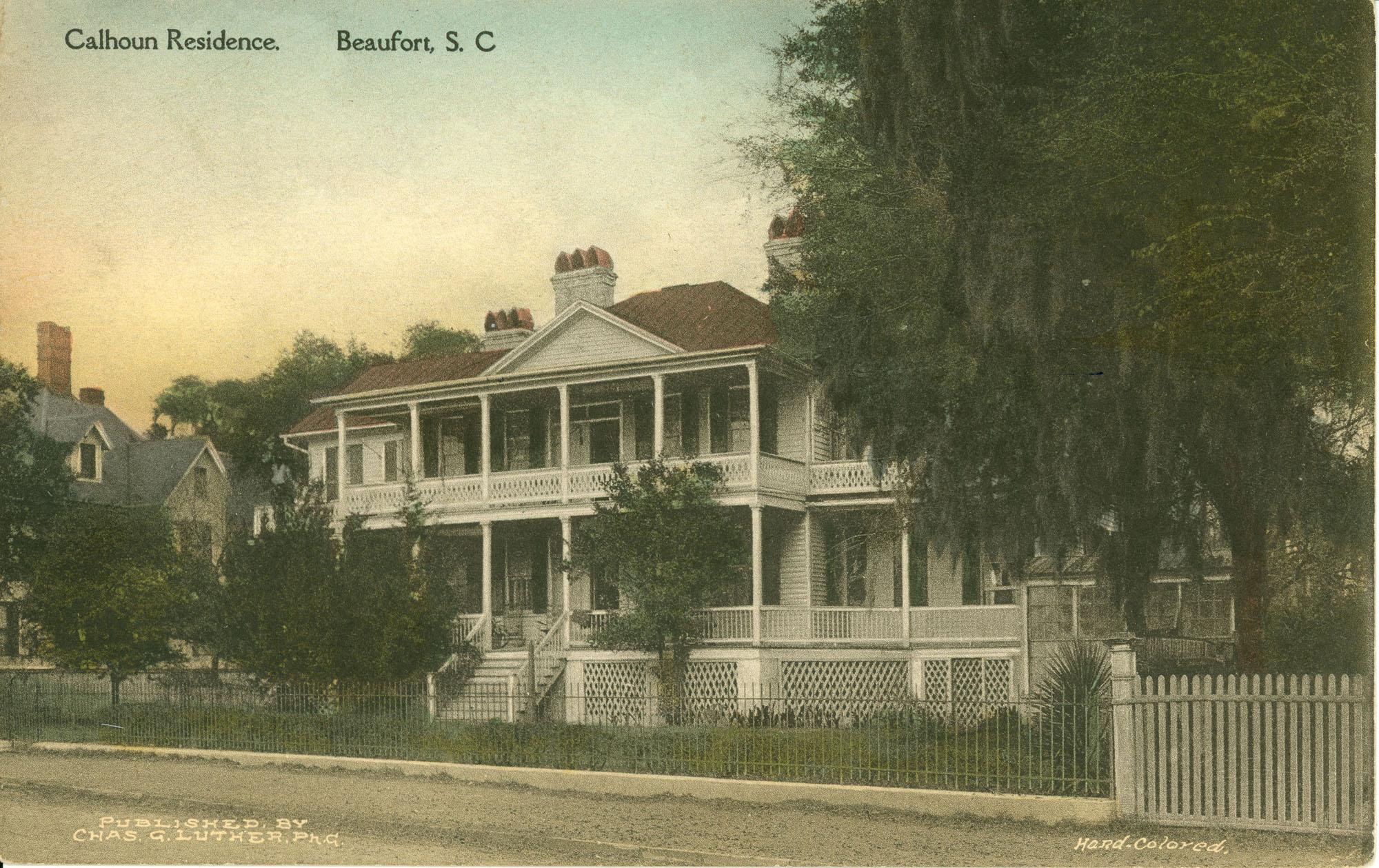 Calhoun Residence Beaufort, S.C.