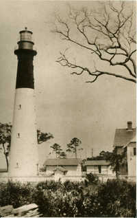 Hunting Island Lighthouse, Beaufort, SC, c1890
