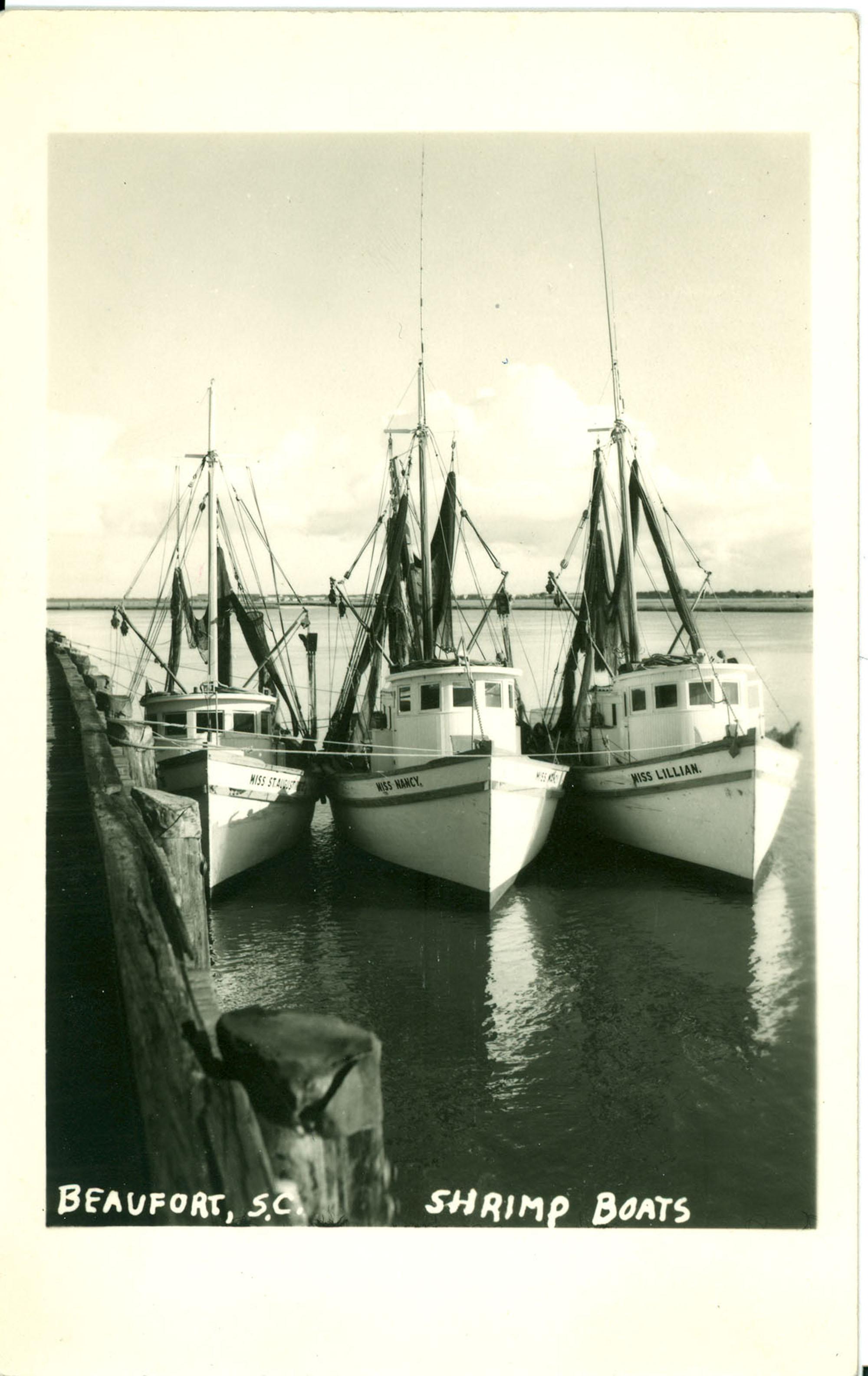 Shrimp Boats Beaufort, S.C.
