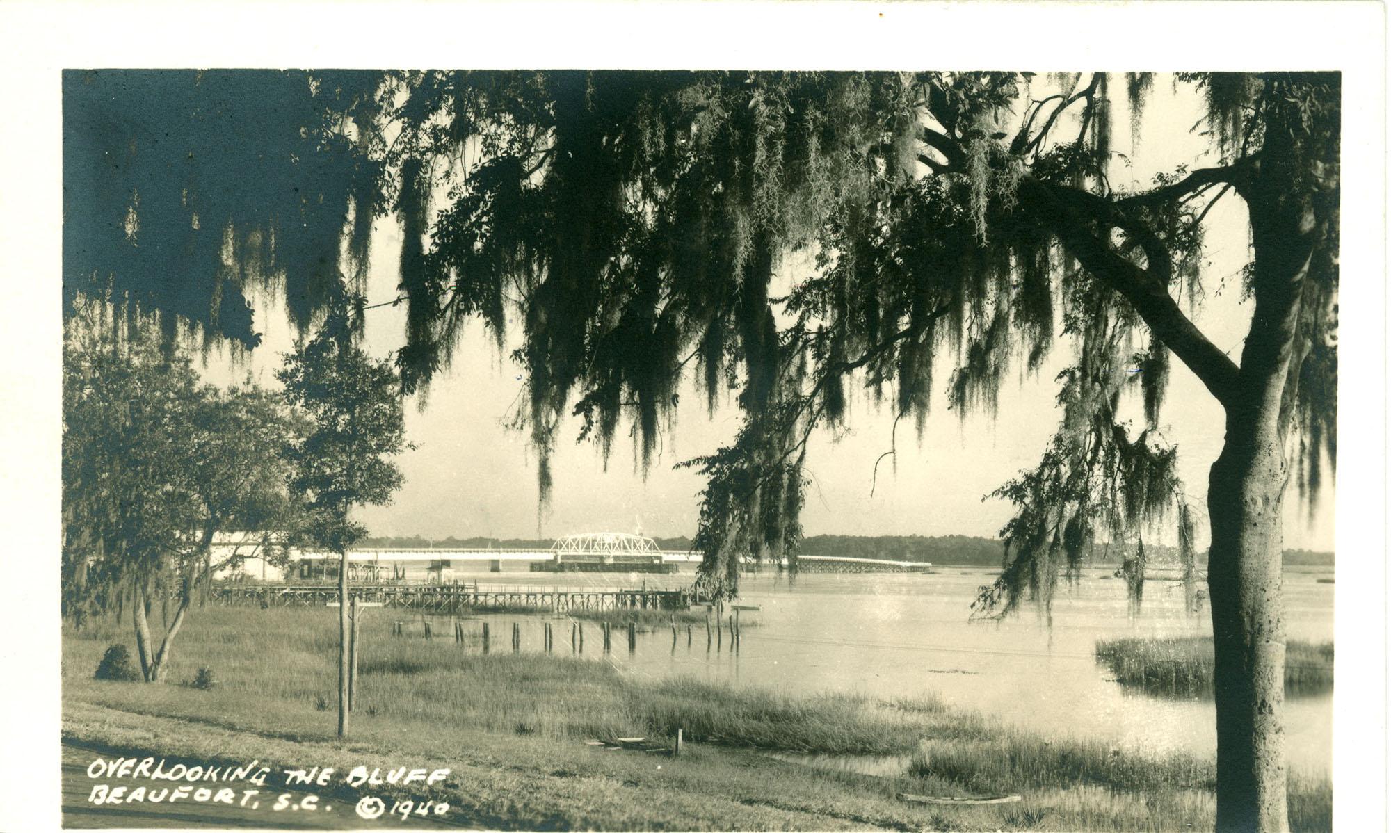 Overlooking the Bluff, Beaufort S.C.