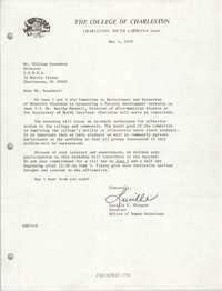 Letter from Lucille S. Whipper to William Saunders, May 3, 1979