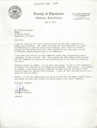 Letter from John P. O'Keefe to William Saunders, May 2, 1979