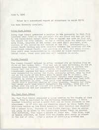 COBRA Materials, June 4, 1971