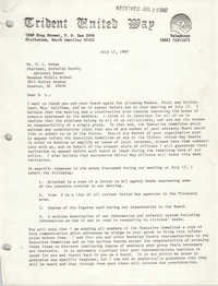 Letter from Vernon B. Strickland to H. L. Dukes, July 17, 1980