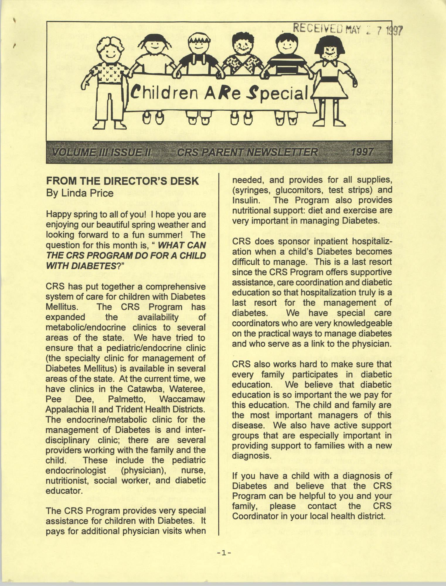Children Are Special, Volume III, Issue II