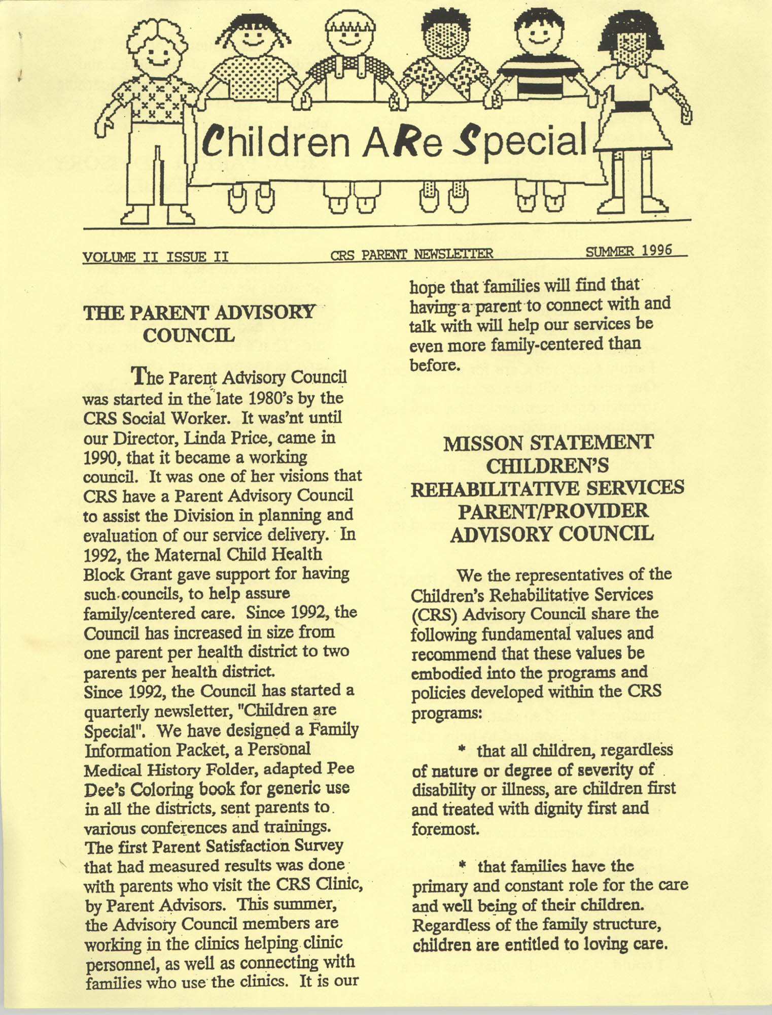 Children Are Special, Volume II, Issue II