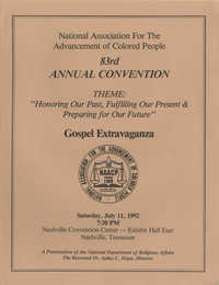 NAACP 83rd Annual Convention Program