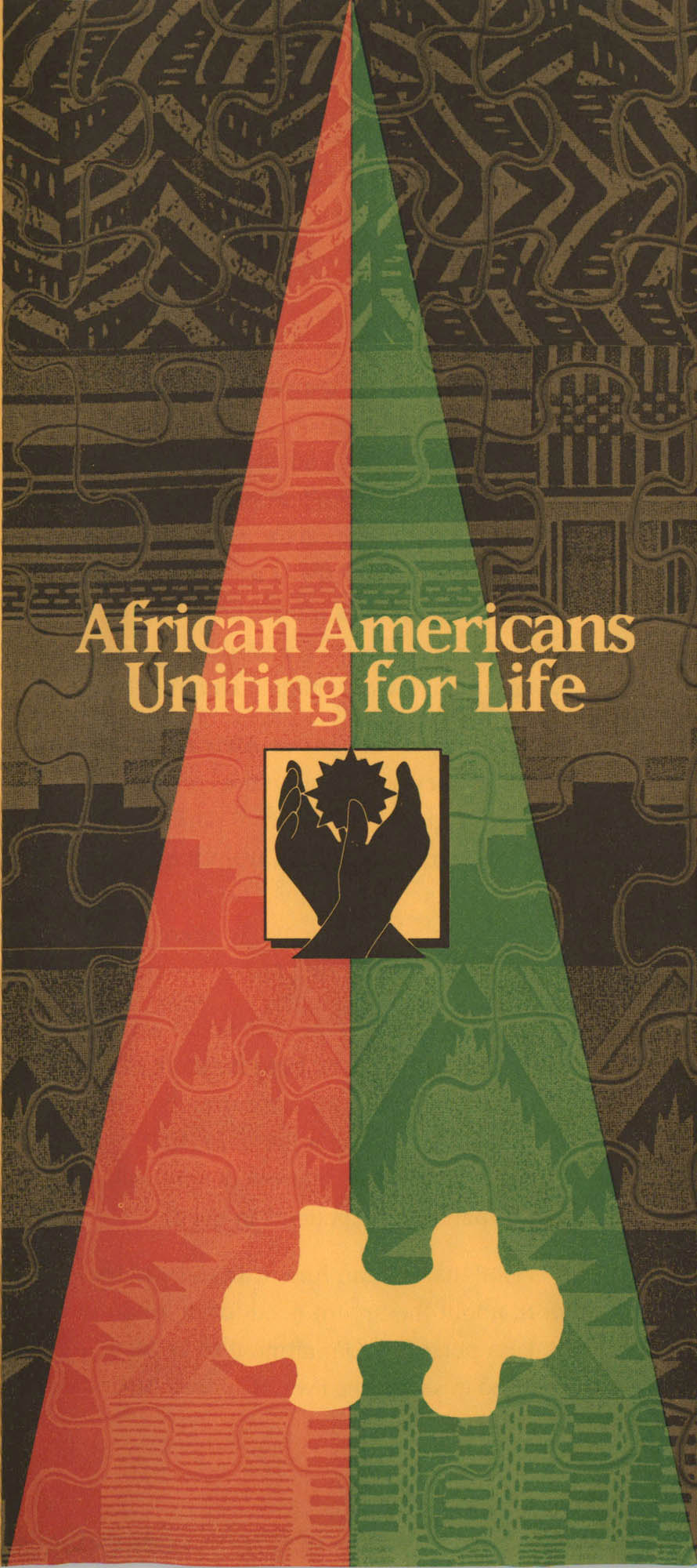African Americans Uniting for Life Pamphlet