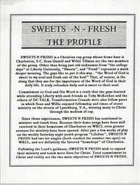 Sweets-N-Fresh Profile
