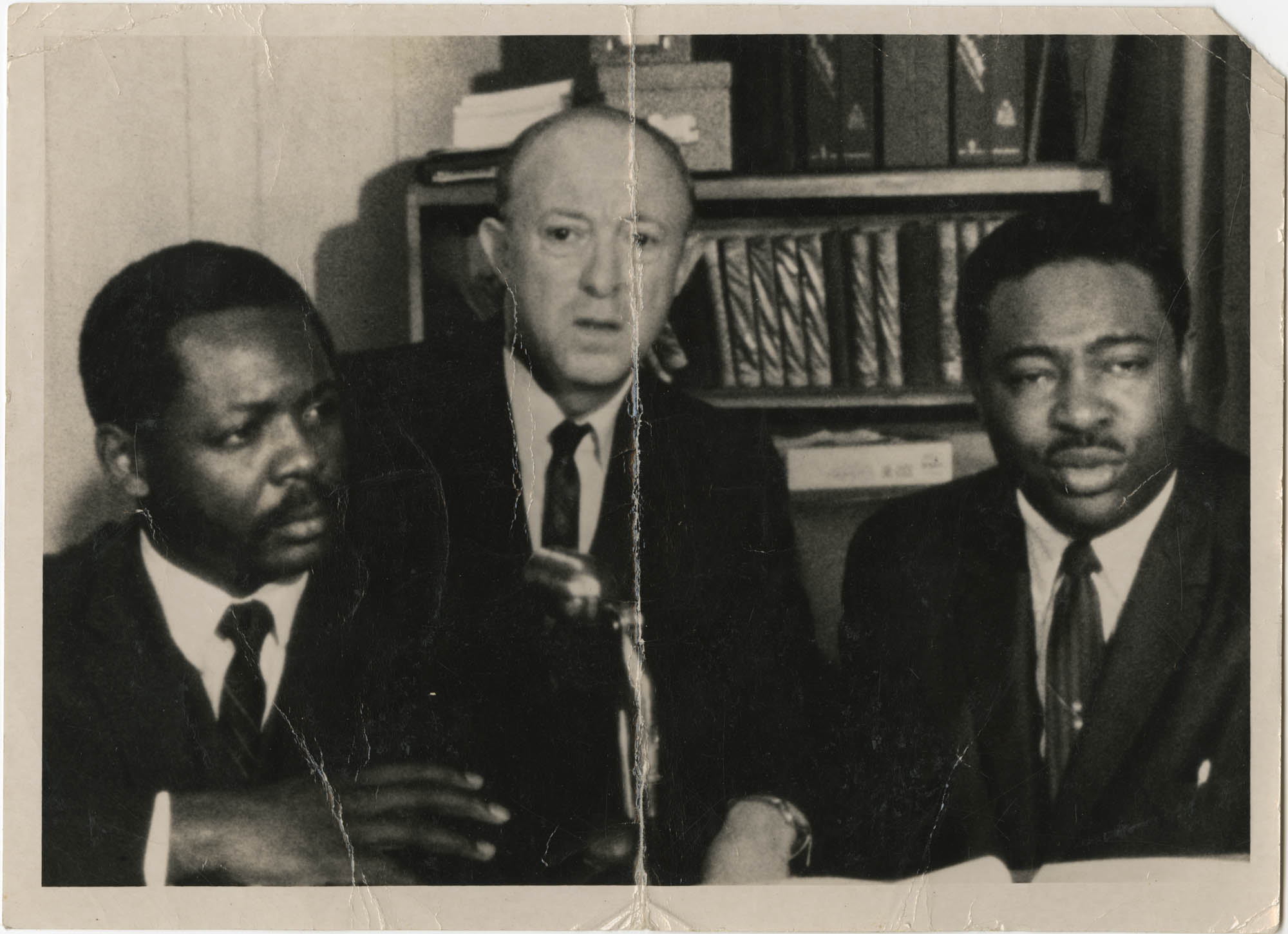 Photograph of Isaiah Bennett and Others
