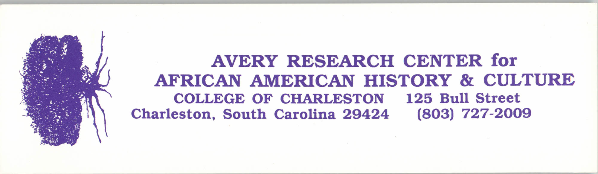 Avery Research Center for African American History and Culture, Bumper Sticker