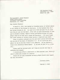 Letter from Septima P. Clark to Strom Thurmond, August 28, 1985