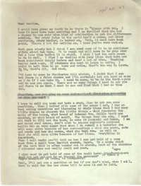 Letter from Josephine Rider to Septima P. Clark, September 20, 1967
