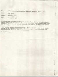 Trident 2000 Memorandum, January 19, 1978