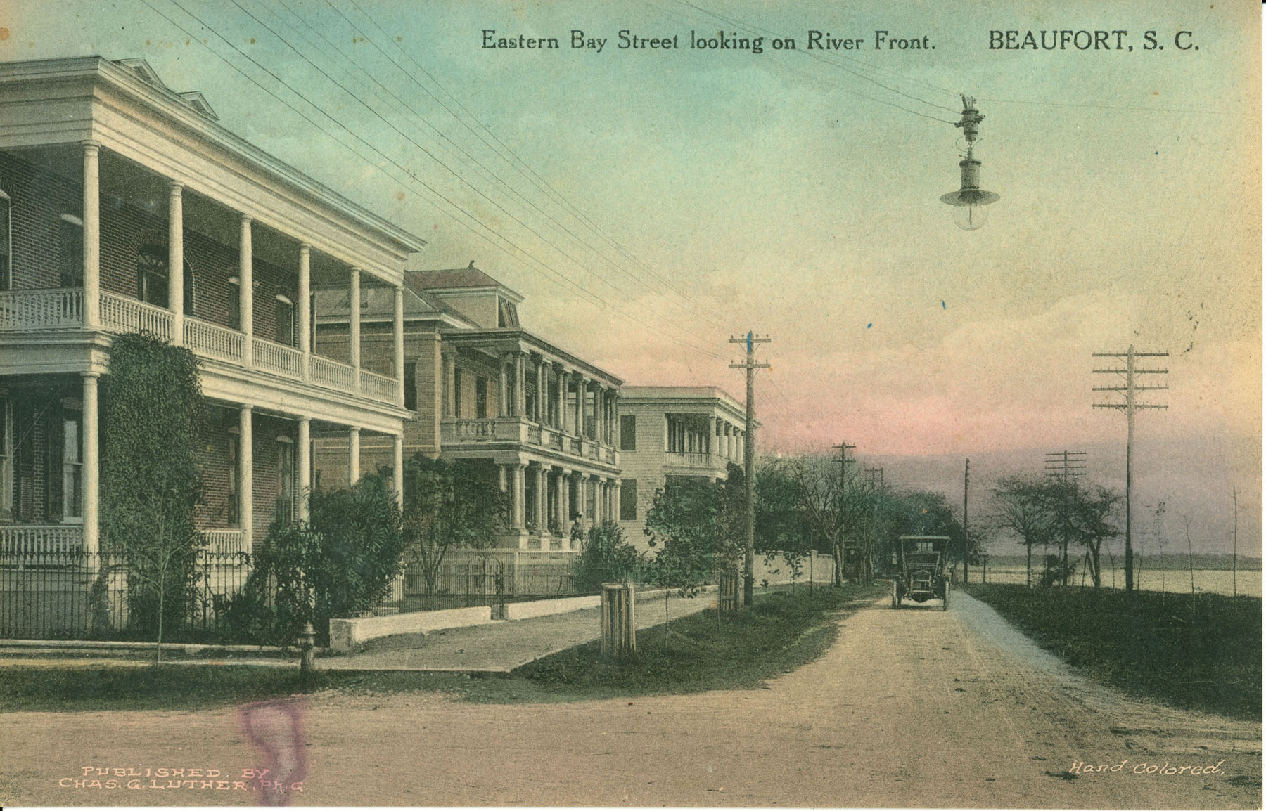 Eastern Bay Street looking on River Front