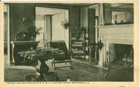 Lounge and Sun Parlor in N.C.W.C. Visitors House, Beaufort, South Carolina