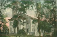Entrance to St. Helena Episcopal Church, Established 1712 Beaufort, South Carolina