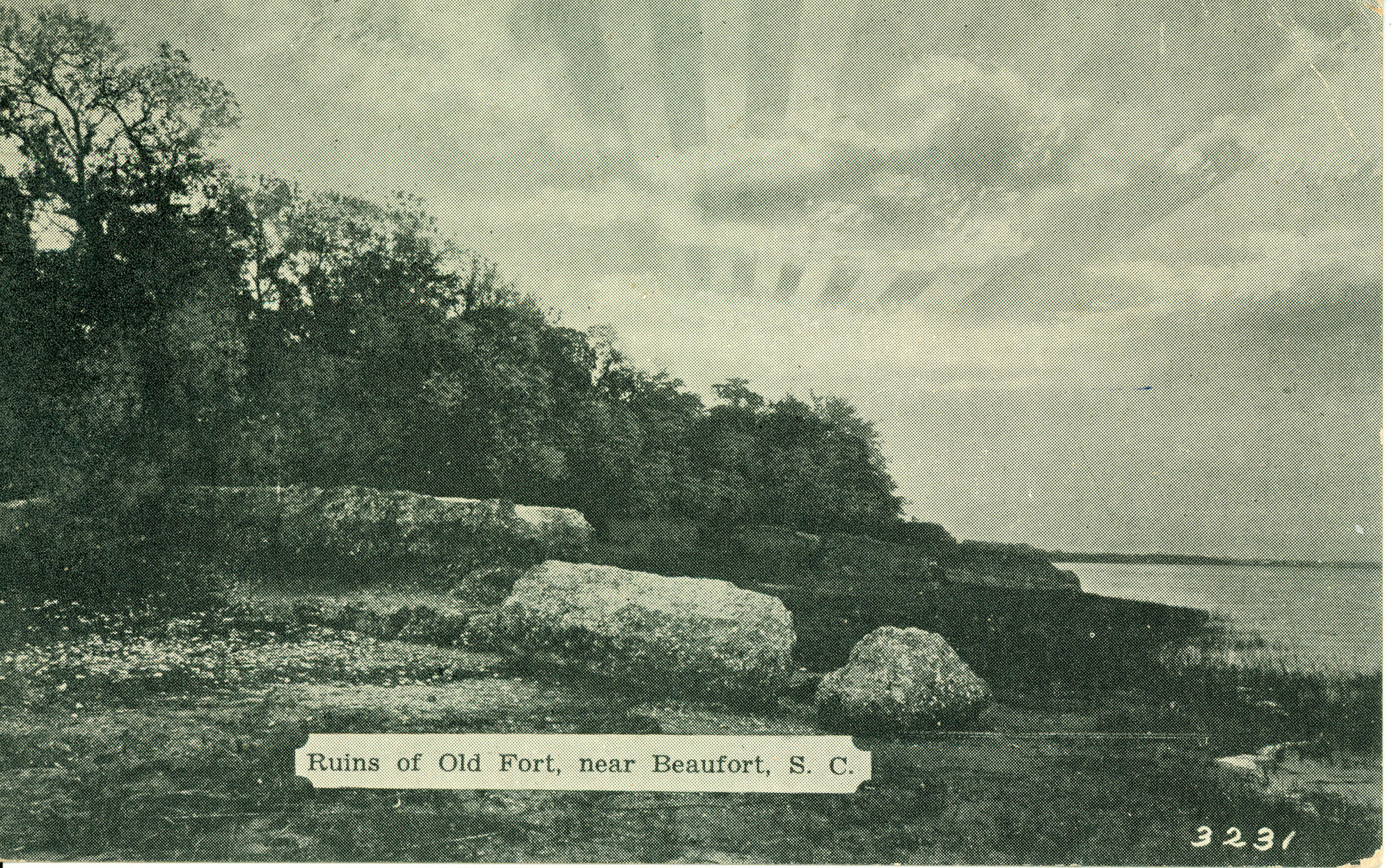 Ruins of Old Fort, near Beaufort, S.C.