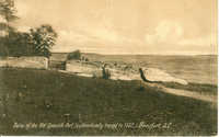 Ruins of the Old Spanish Fort, (authentically traced to 1562) Beaufort S.C.