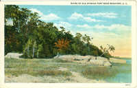 Ruins of Old Fort Near Beaufort, S.C.