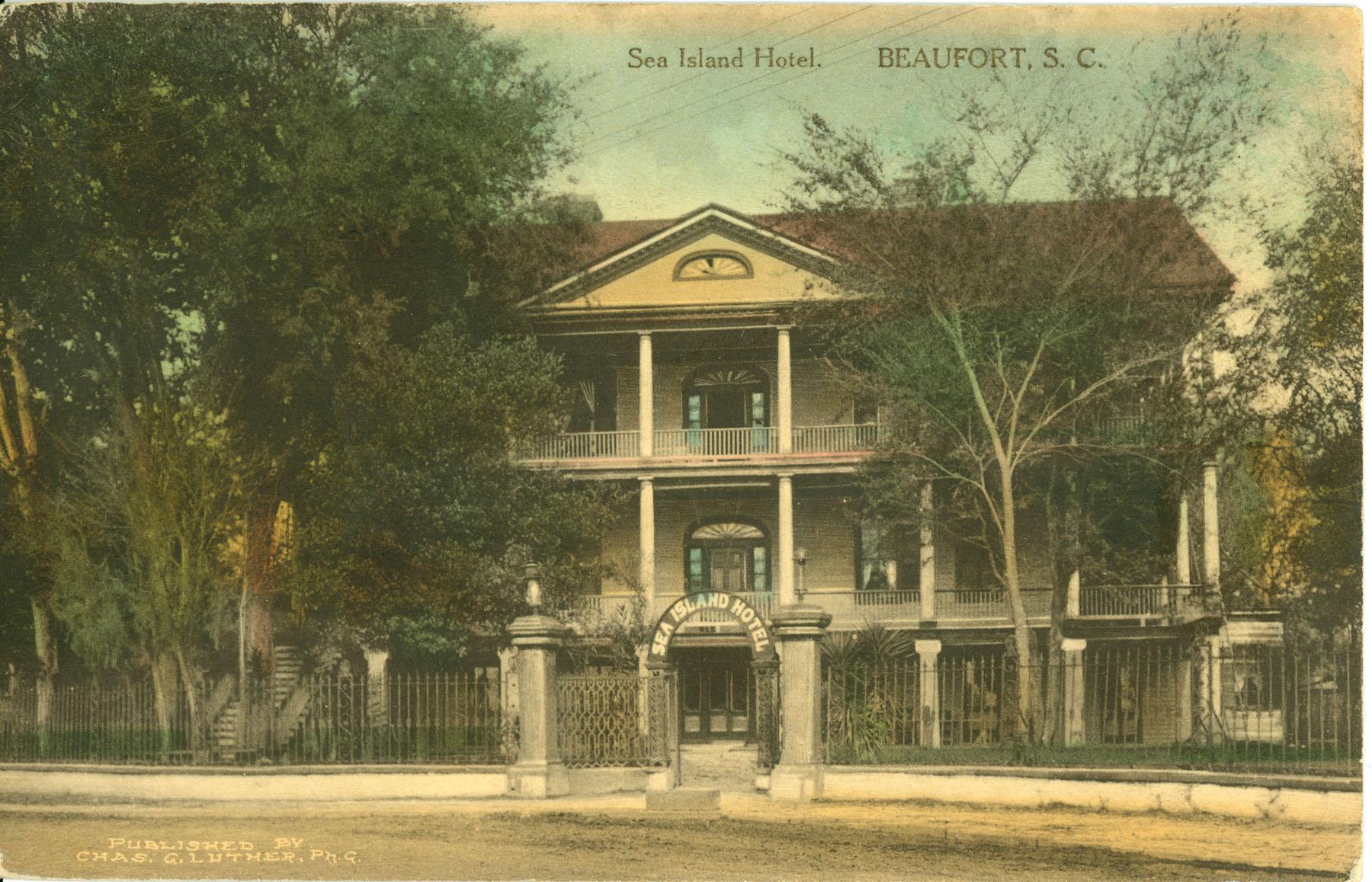 Sea Island Hotel.  Beaufort, South Carolina