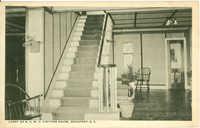 Lobby of N.C.W.C Visitors House, Beaufort, South Carolina