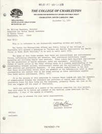 Letter from Melba S. Varner to William Saunders, September 11, 1978