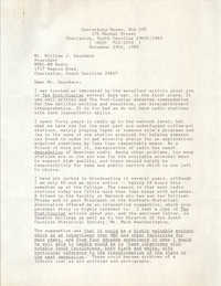 Letter from Paul Bailey Mason to William J. Saunders, November 29, 1989