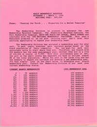 NAACP Membership Marathon, November 1 - March 1, 1994