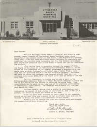 Letter from Albert N. Brooks, 1960