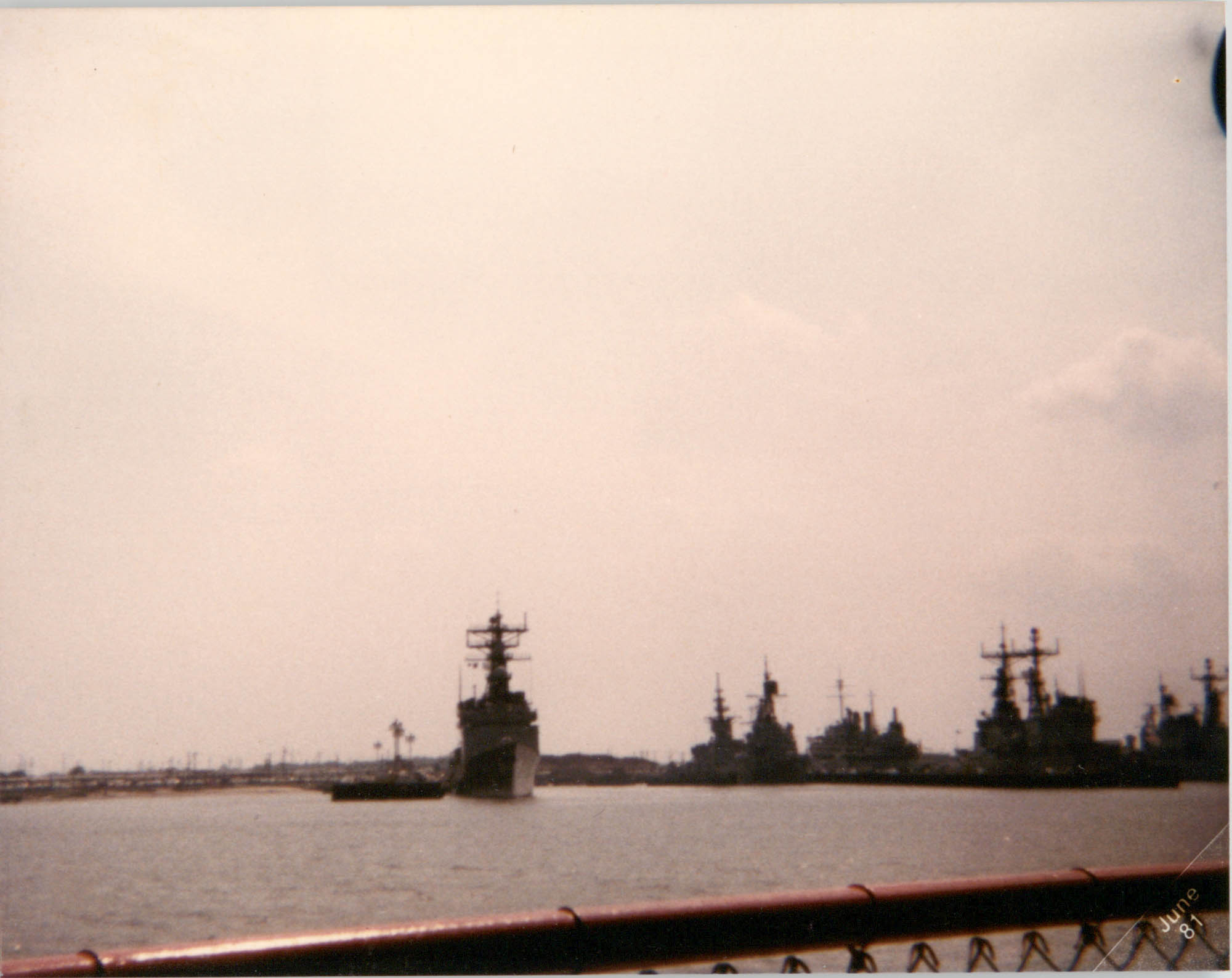 Photograph of Battle Ships
